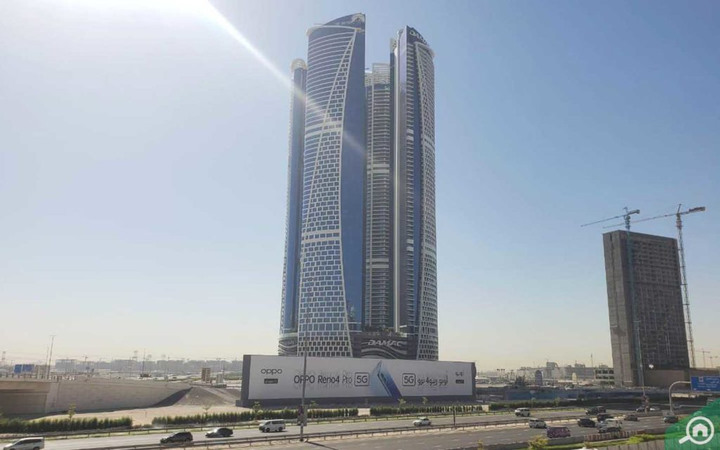 skyscrapers in DAMAC Paramount, Business Bay