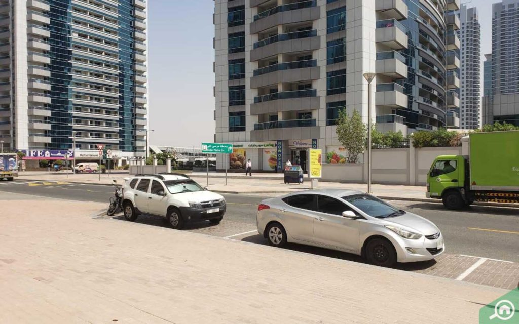 Parking in Trident Bayside