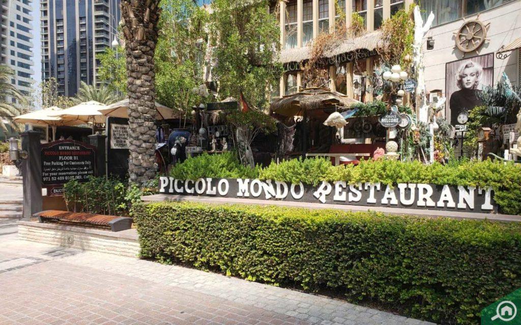Piccolo Mondo Restaurant in Trident Bayside