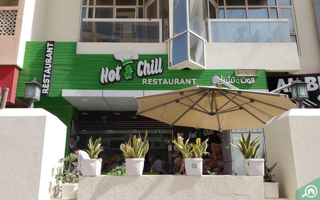 Restaurant in Marina Pearl