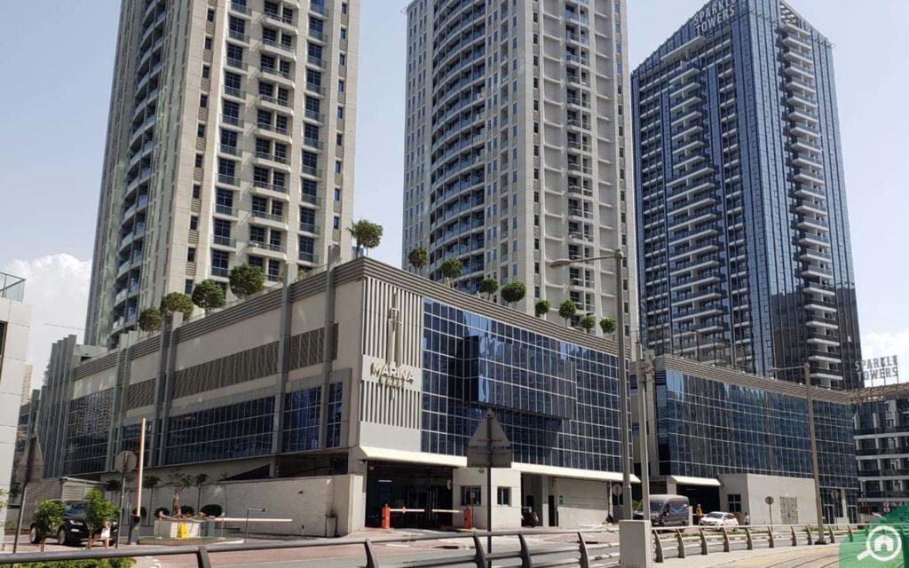 Marina Wharf entrance