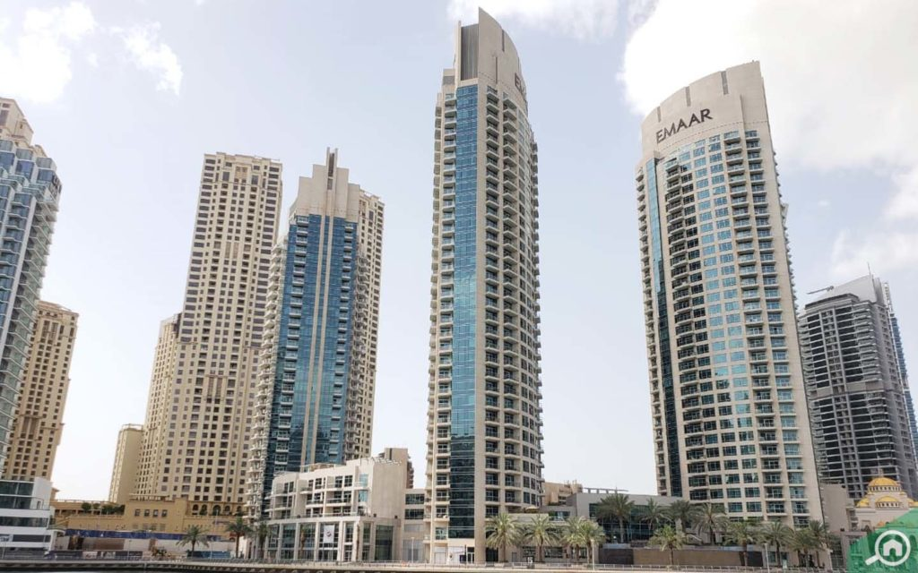 outside view of Park Island Towers dubai