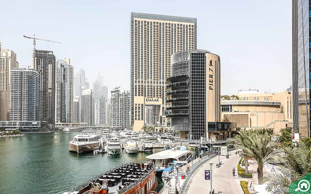 Pier 7 in Dubai Marina