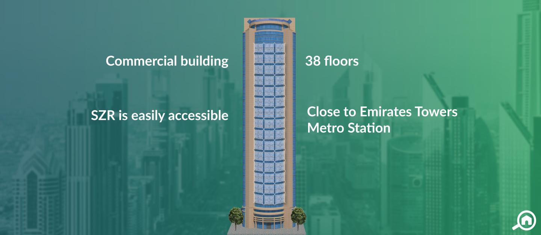 Al Saqr Business Tower, Sheikh Zayed Road