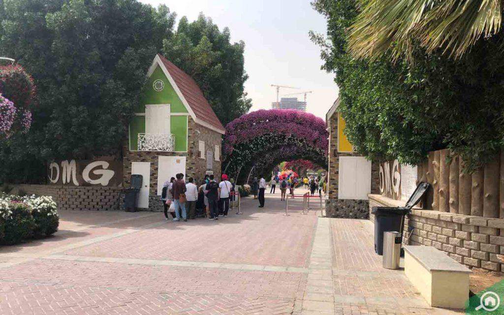 Dubai Miracle Garden interior