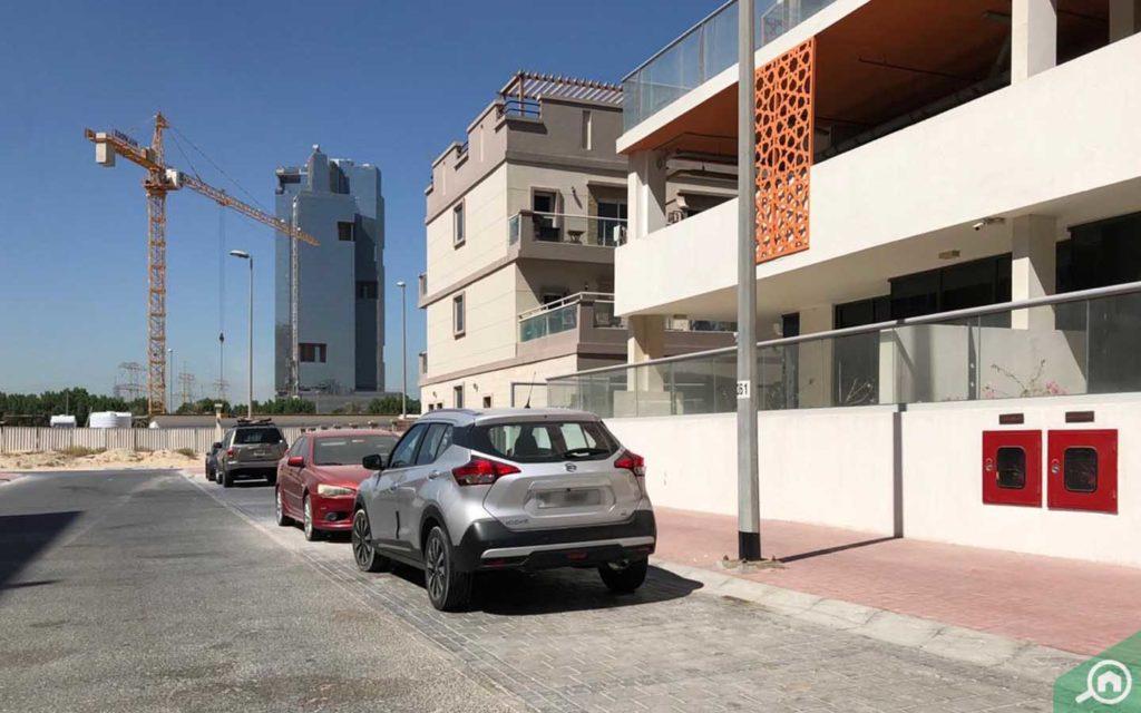 Parking in National Bonds Residence