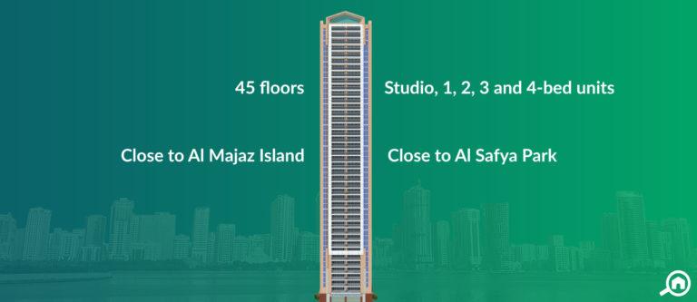Al Majaz Tower, Sharjah