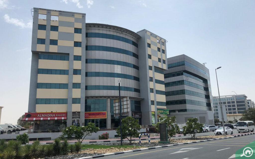 مبنى في دبي