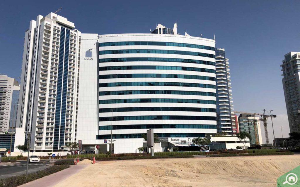 view of cayan business center, TECOM