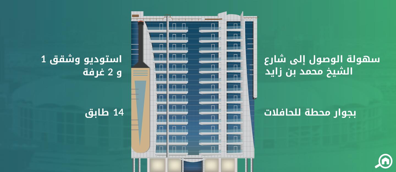 برج كريكيت، مدينة دبي الرياضية