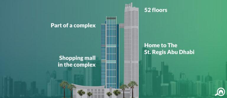 Nation Tower B, Corniche Area