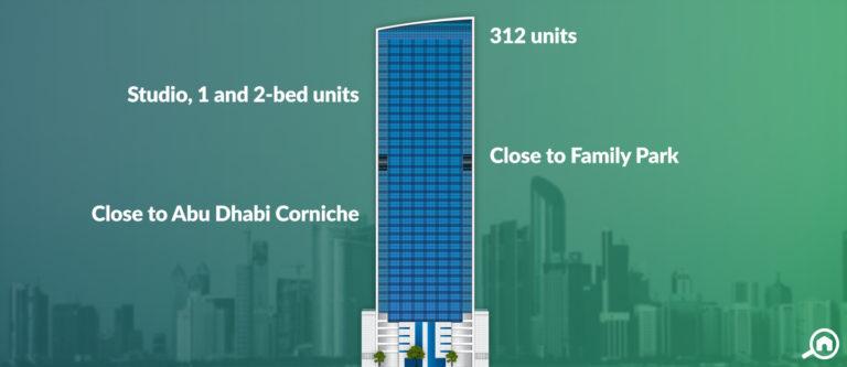 Meera TIME Residence Apartments, Corniche Area