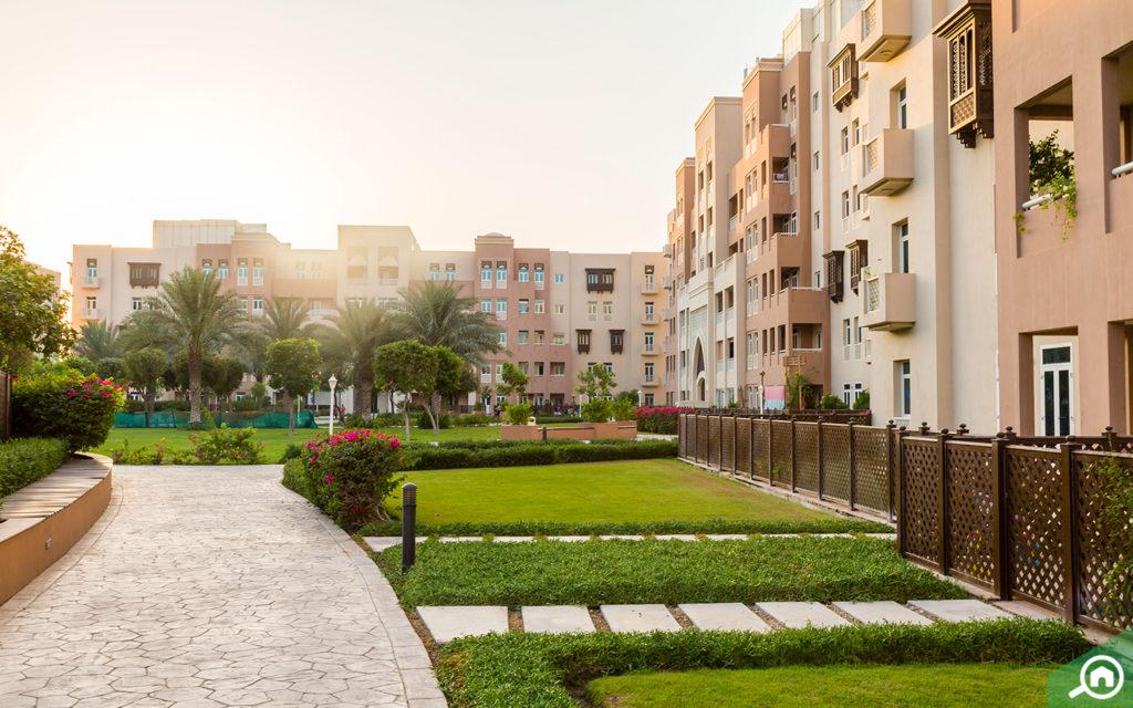 مشروع مساكن الفرجان في دبي