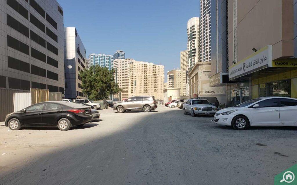 Qasimia University Building Street