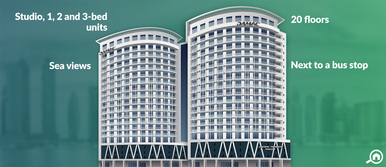 DAMAC Maison Majestine, Business Bay