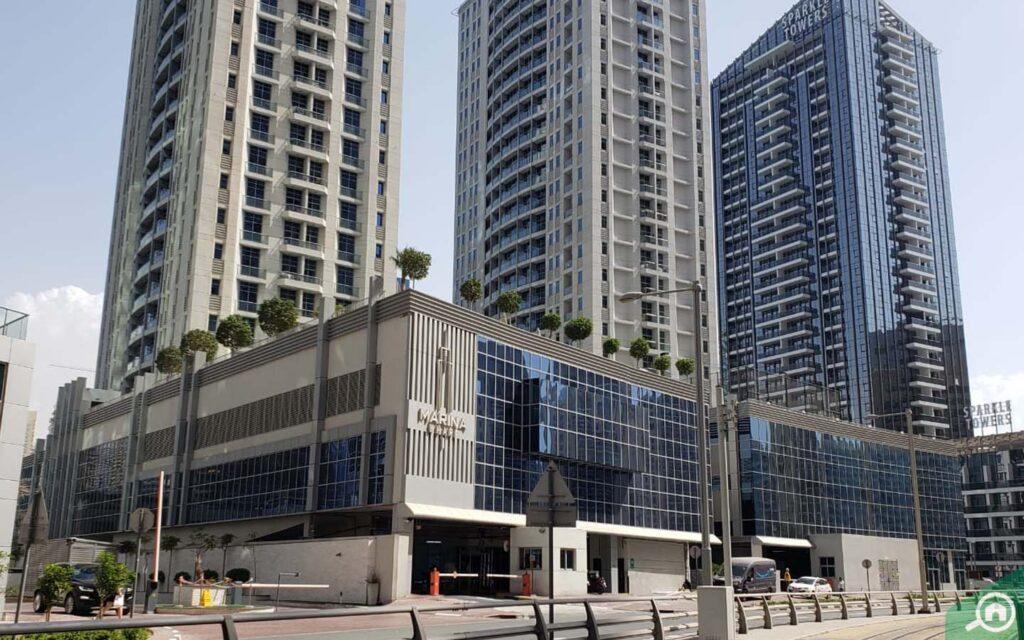 مشروع مارينا وارف في دبي
