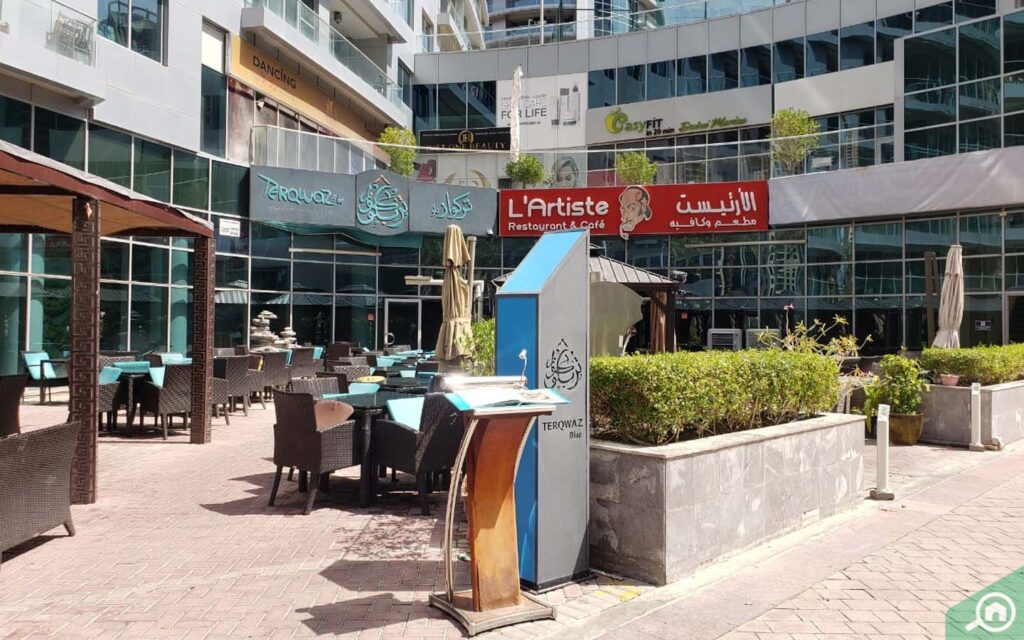 restaurants in Waves Tower Dubai Marina