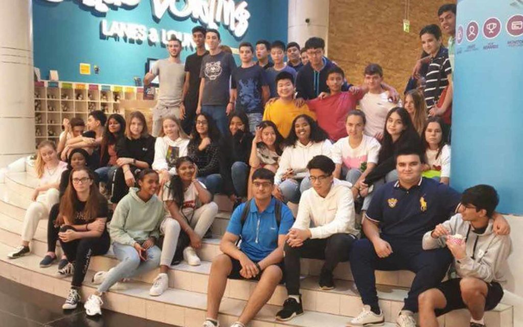 Repton School's students enjoying field trip to Magic Planet