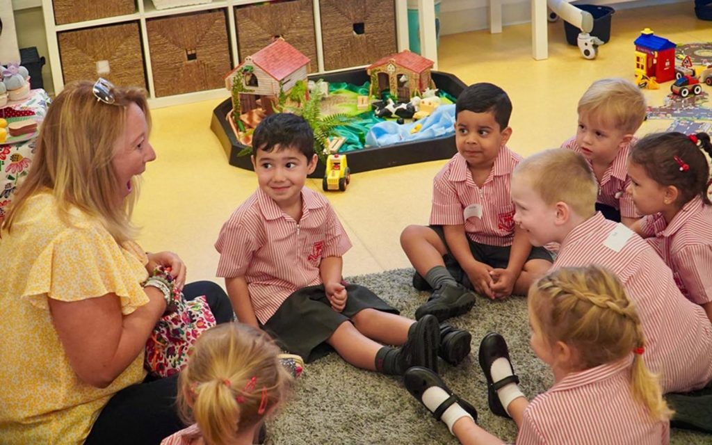 New students in Dubai English Speaking School
