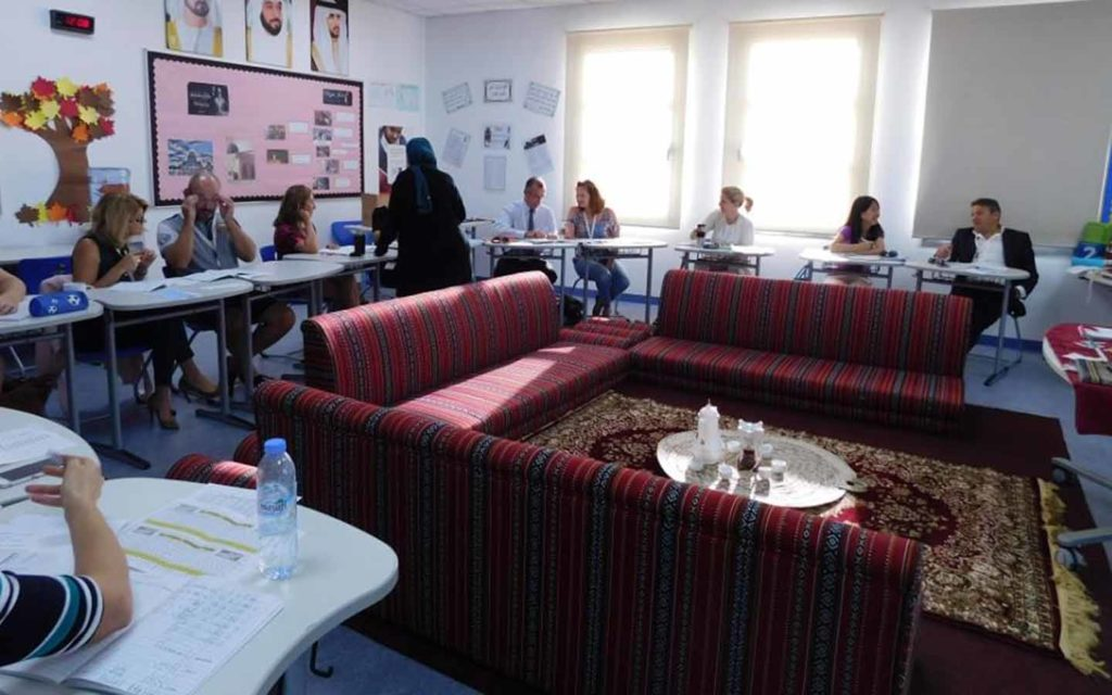 Parent engagement at Dubai British School