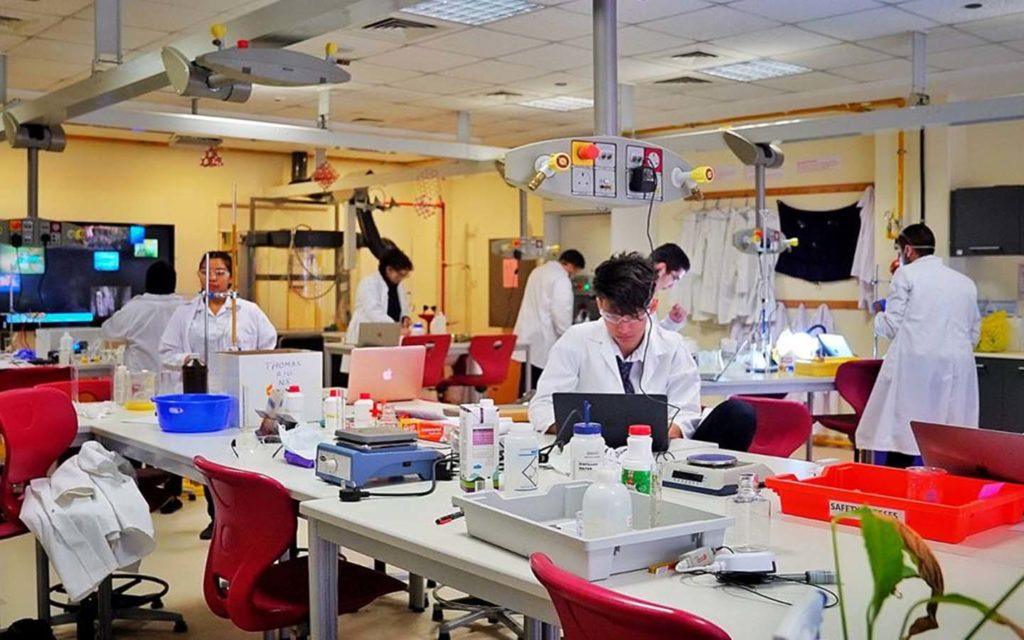laboratory in GEMS World Academy