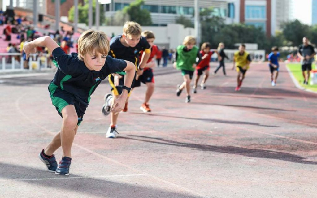 Sports facility in GEMS World Academy