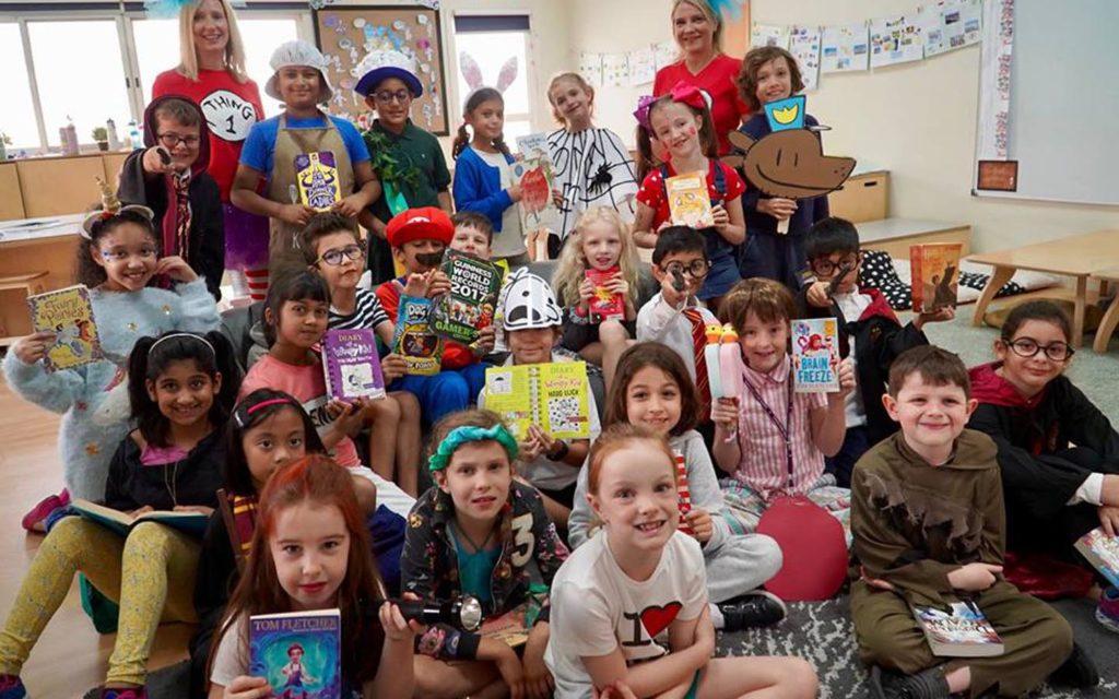 Book day celebration in Dubai English Speaking School