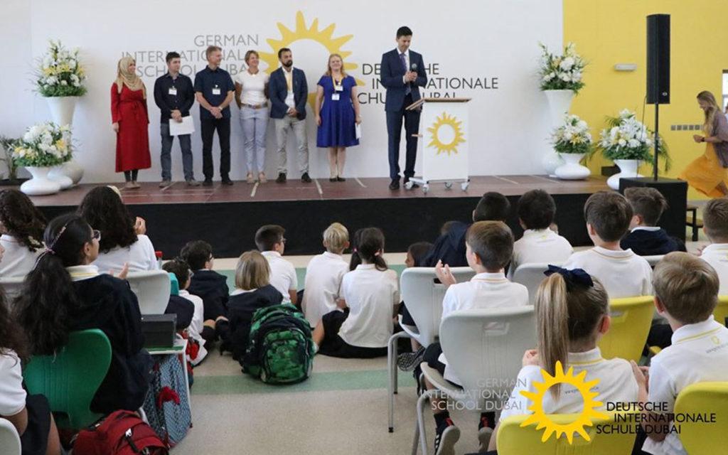 Admissions at German International School