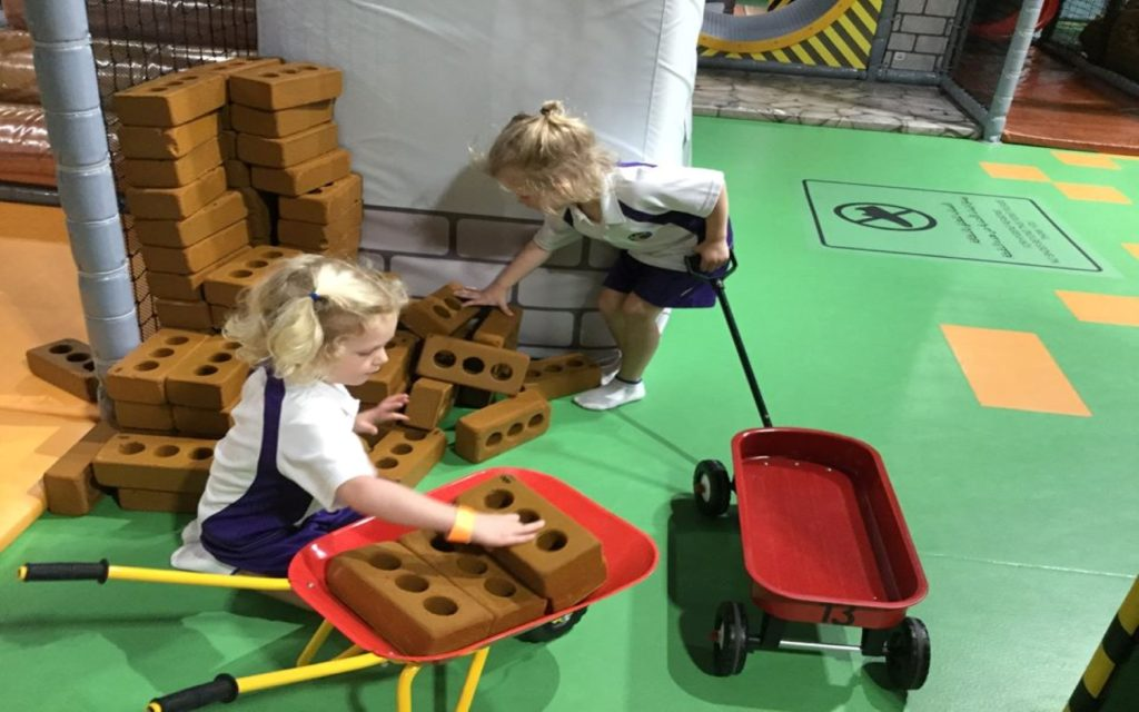 Early Years' students of Sunmarke School playing and learning simultaneously