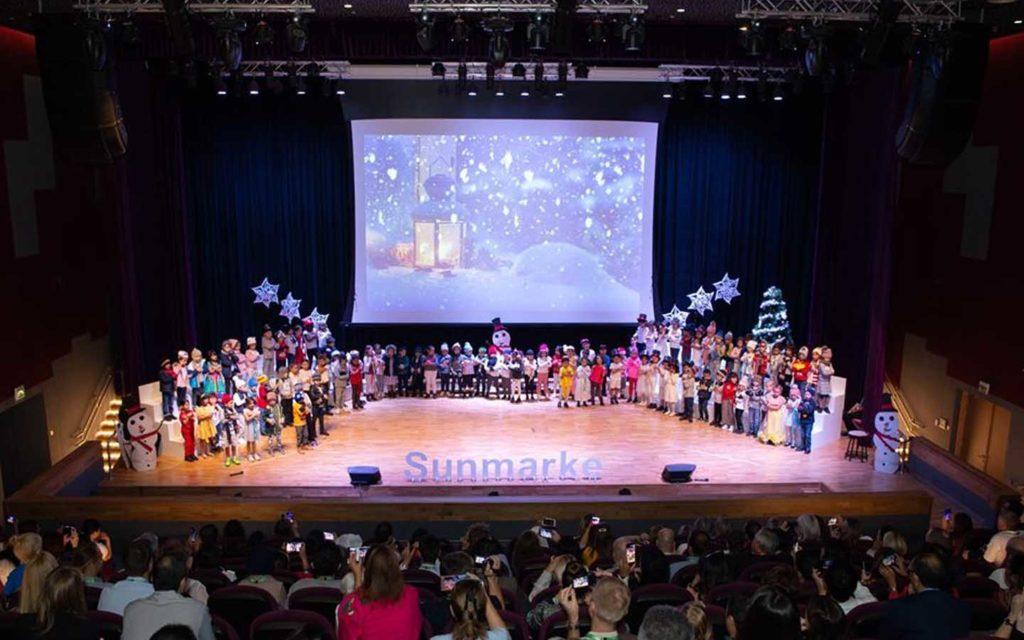 Auditorium at Sunmarke School