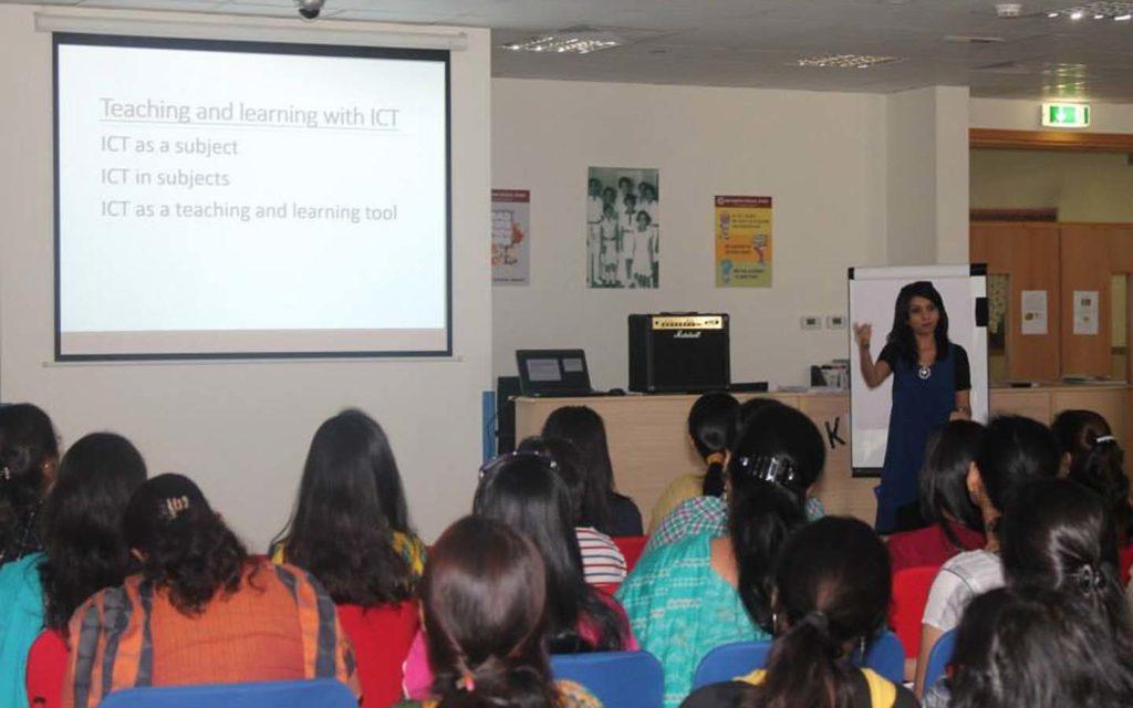 Teachers' training session