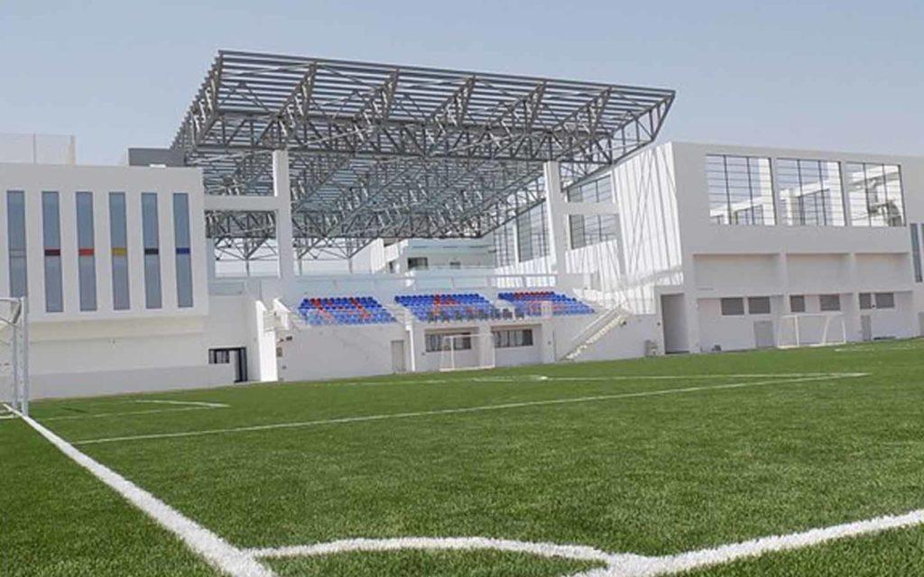 Football pitch at Nord Anglia International School
