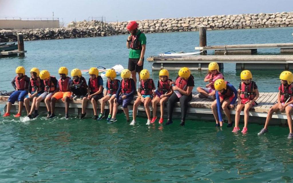 Regent International Private School's students at Ecoventure Dubai for field trip