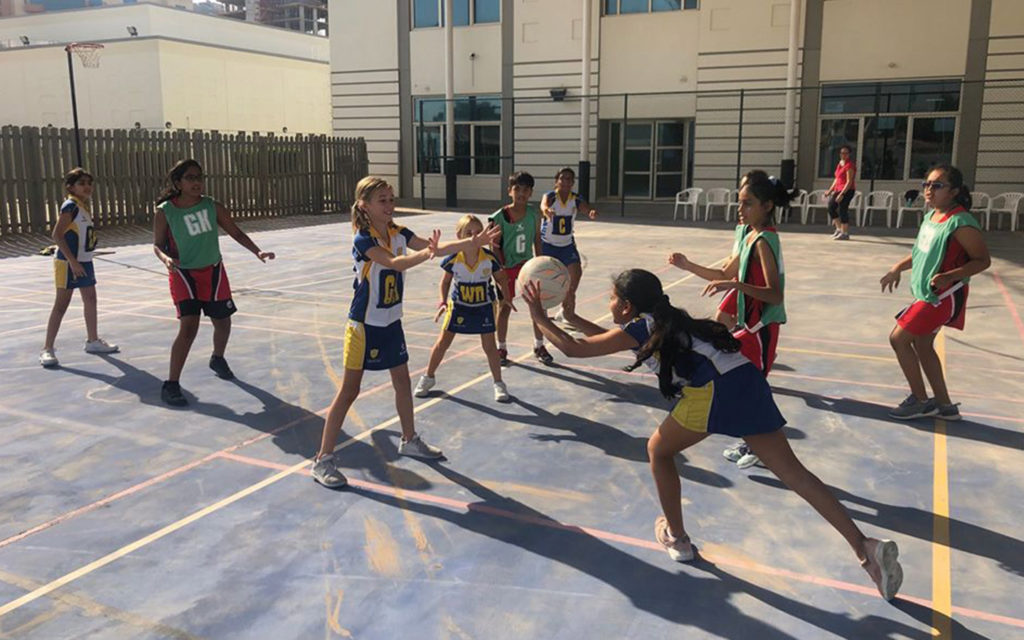 Students involved in sports activities at Regent International Private School
