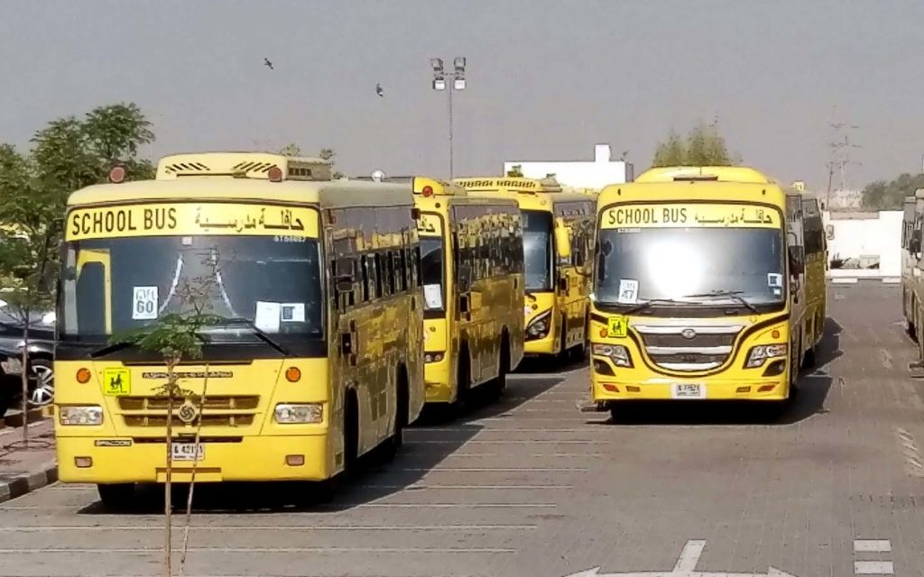 School transportation at GEMS Modern Academy