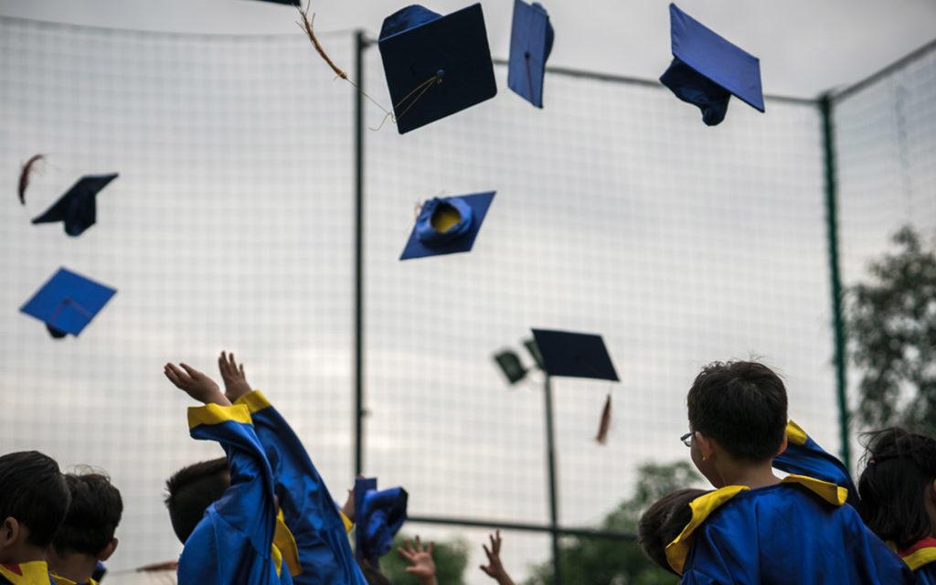 Delta English School Sharjah organizes an annual Kindergarten Graduation Day