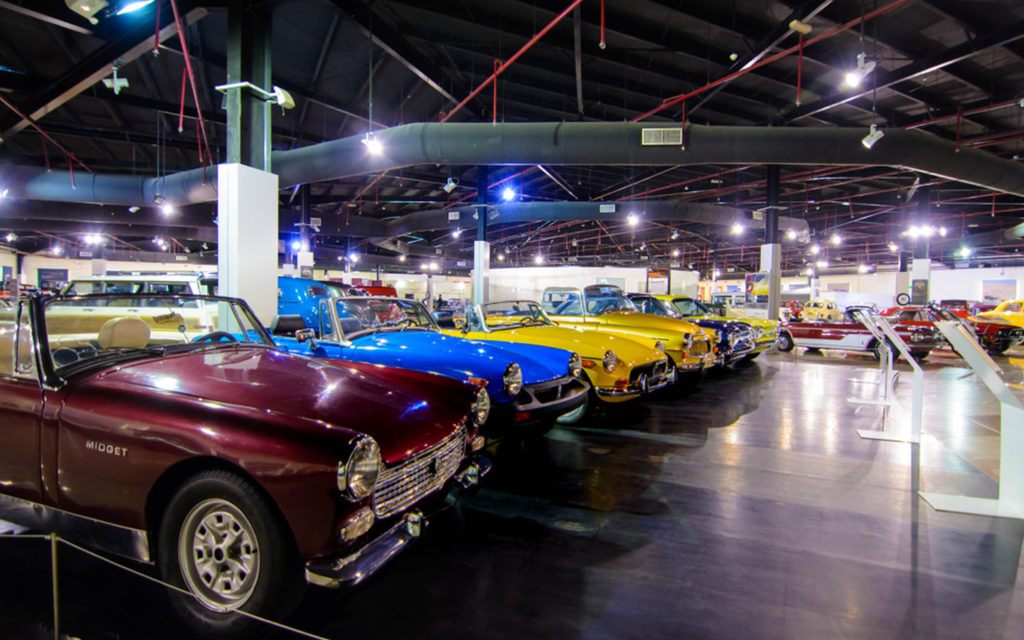 Students of Delta English School visit various locations in Sharjah such as the Sharjah Classic Cars Museum