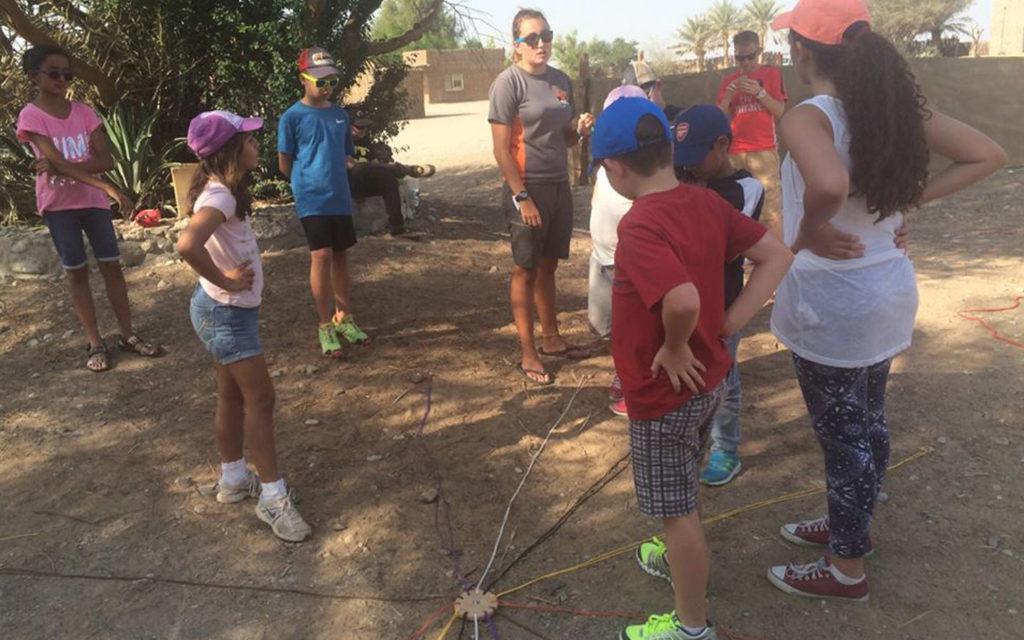 Residential field trip for students of Kings' School Nad Al Sheba
