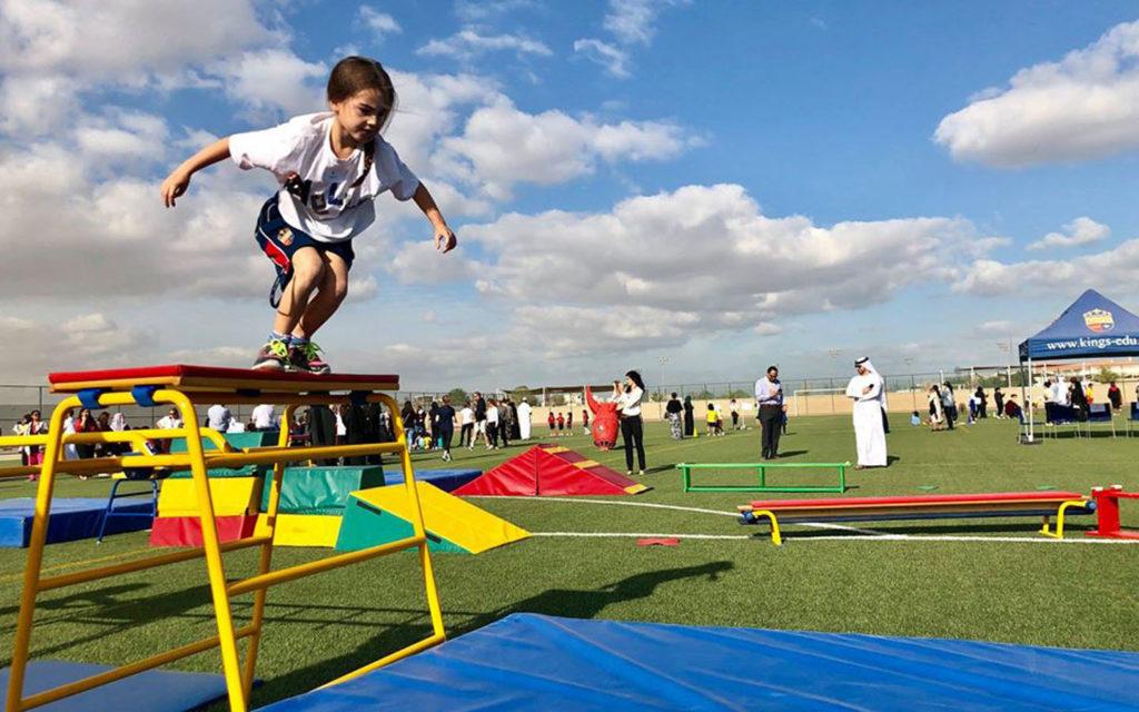 Sports facilities and games at Kings' School Nad Al Sheba