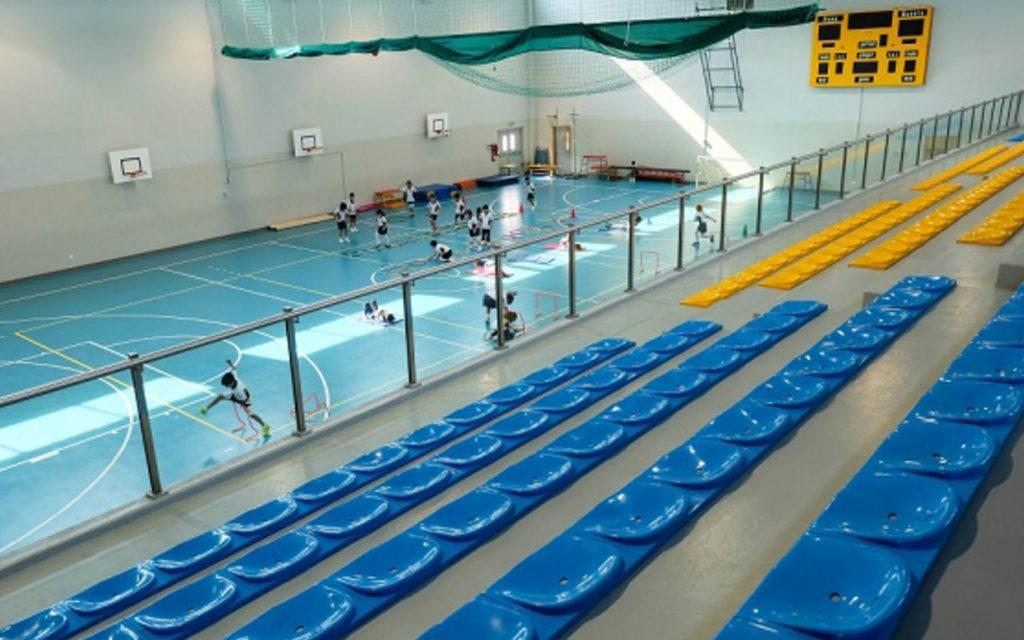 المرافق الرياضية في اكاديمية عجمان
