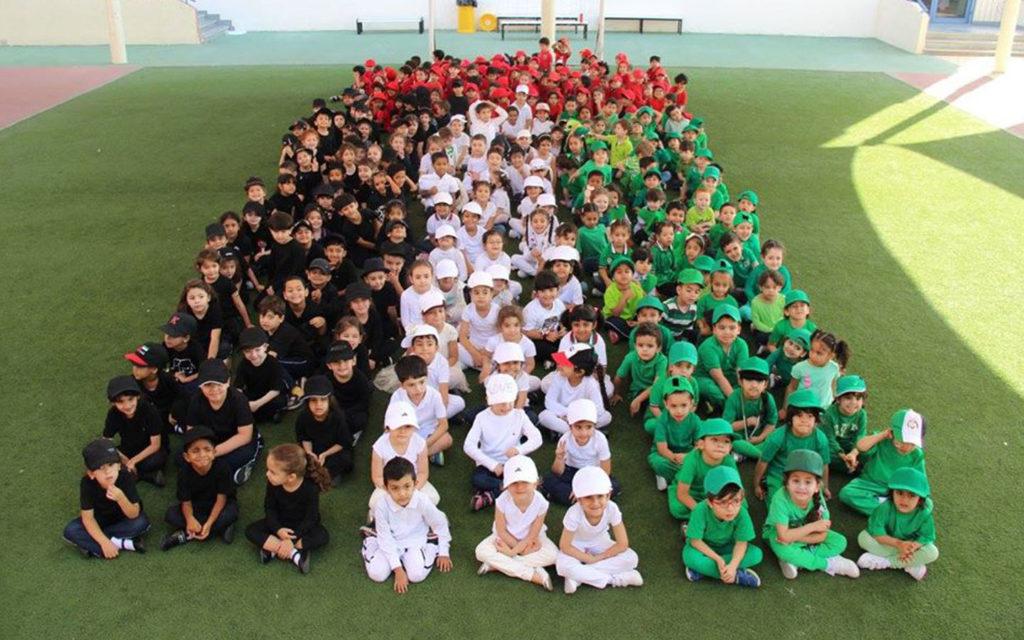 احتفلات يوم العلم في مدرسة البشائر الخاصة