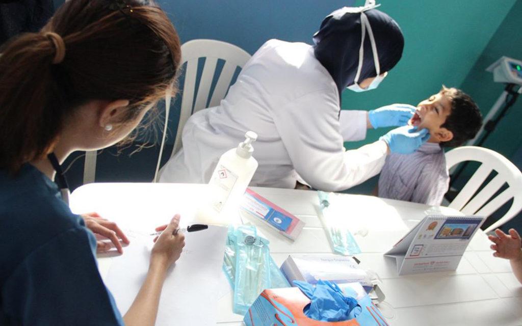 الرعاية الصحية في مدرسة البشائر الخاصة