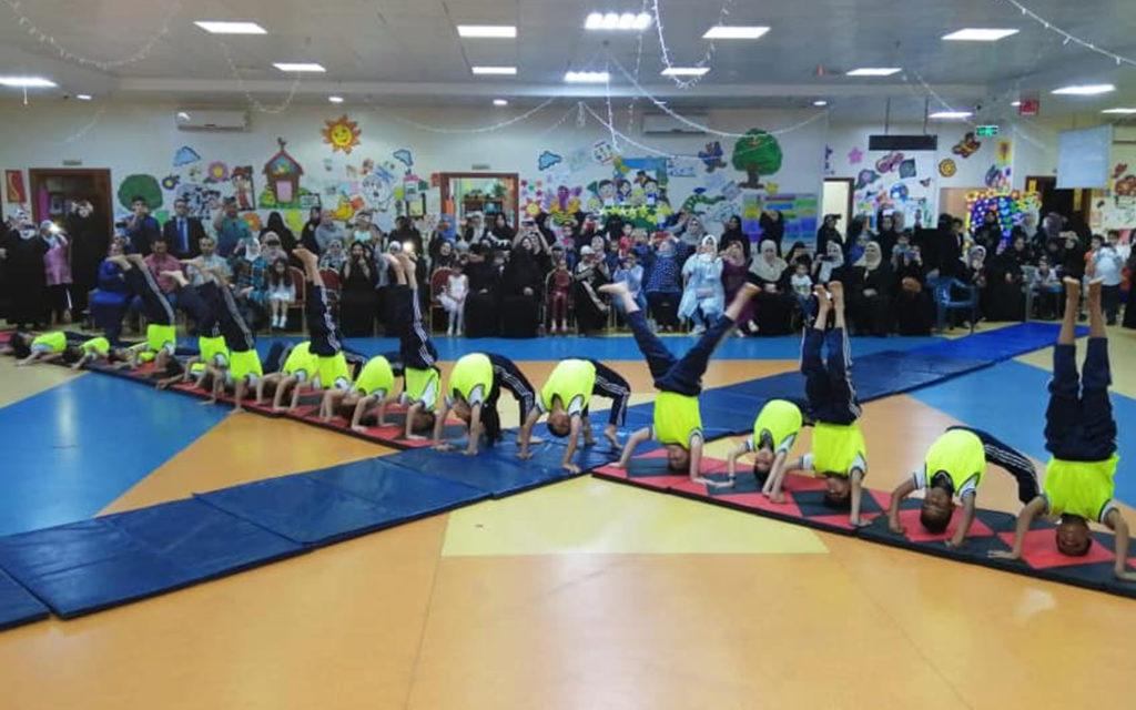 فعالية رياضية في مدرسة الحكمة الخاصة