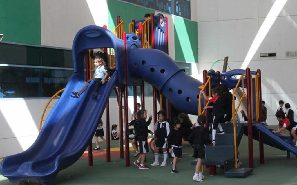 Playing facilities at GEMS Wellington International School