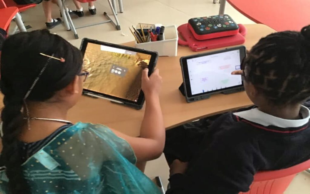 Use of ICT devices in Kings' School AL Barsha classrooms