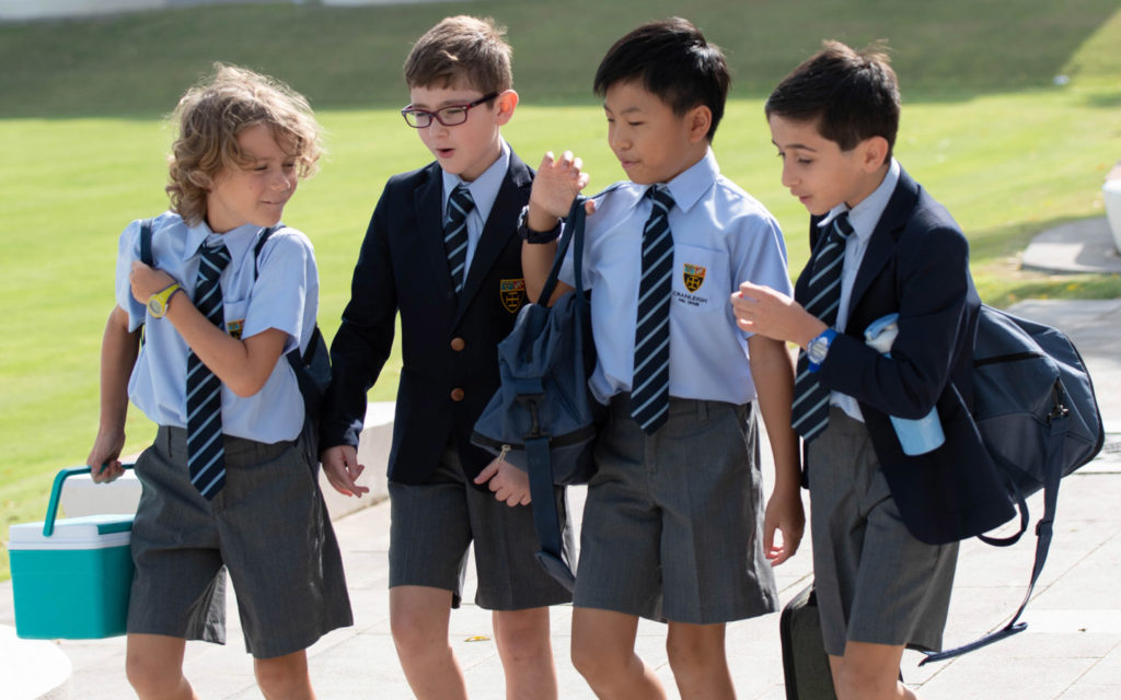 Students of Junior School at Cranleigh Abu Dhabi