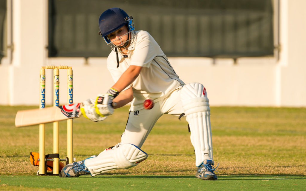 Students at Cranleigh Abu Dhabi play cricket and other sports