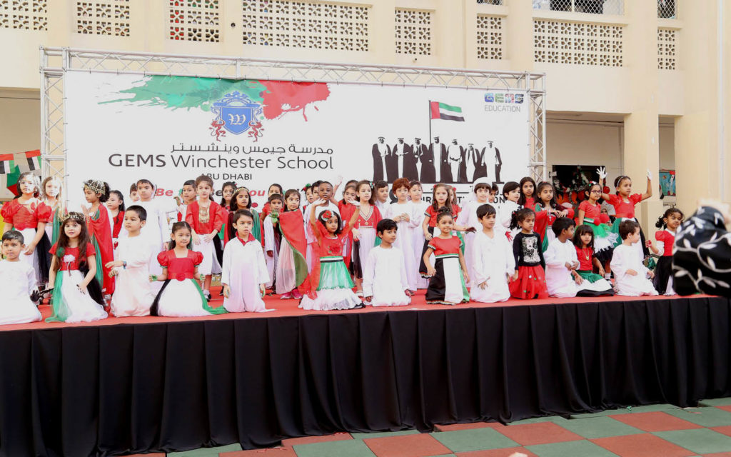 National Day celebrations at GEMS Winchester School Abu Dhabi