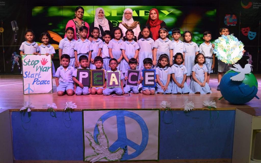 Global Indian International School students