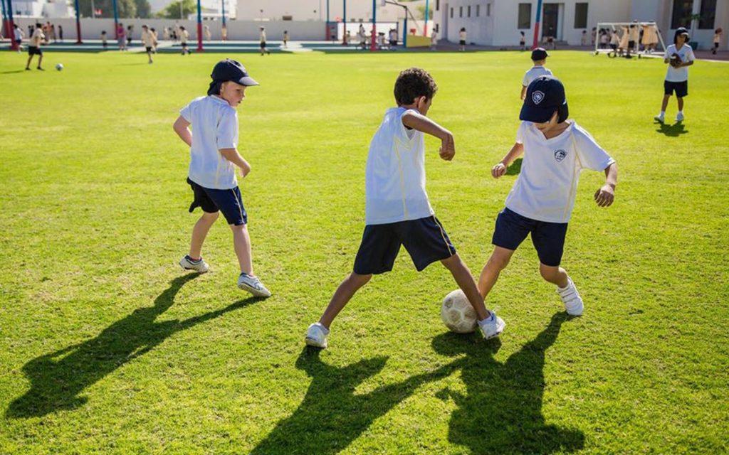 Sports facilities at Horizon English School